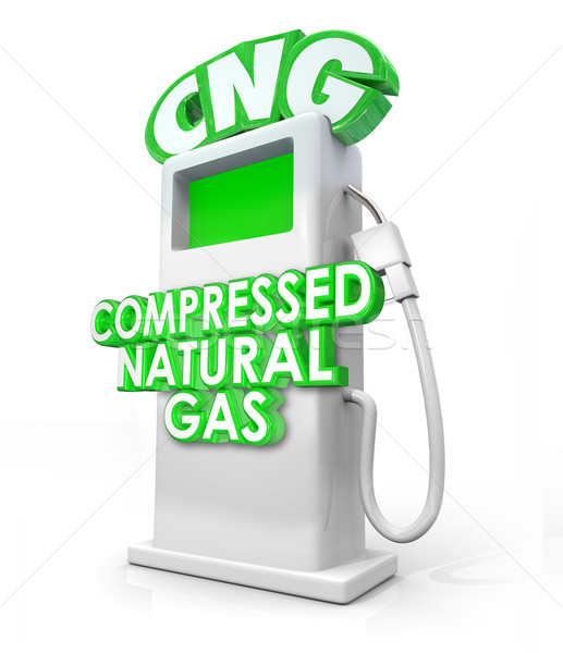 Compressed Natural Gas CNG Alternative Fuel Pump Stock photo © iqoncept