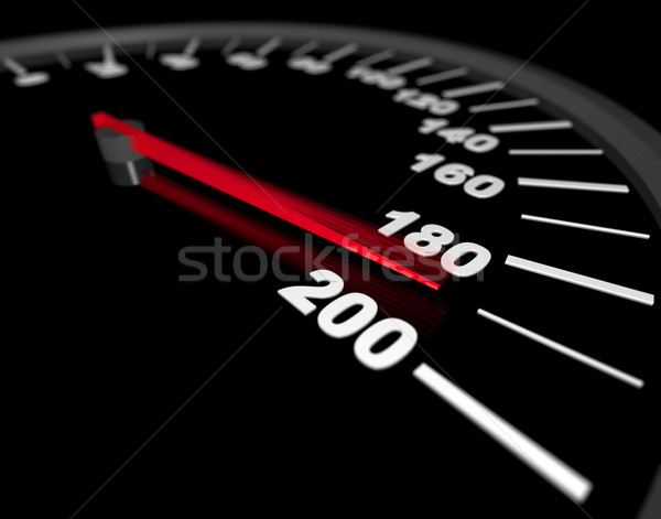 Speeding to the Limit Stock photo © iqoncept