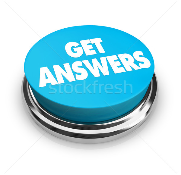 Get Answers Button Stock photo © iqoncept