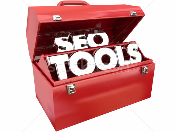 SEO Tools Search Engine Optimimization Website Ranking Traffic Stock photo © iqoncept