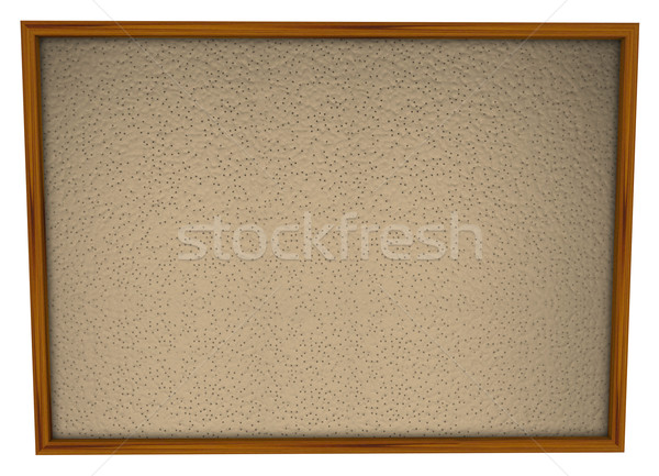Bulletin Board Framed Blank Empty Space  Stock photo © iqoncept