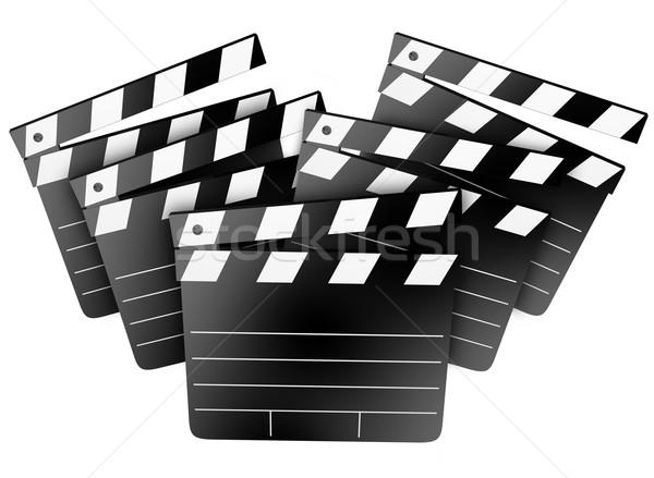 Film film stúdió mozi igazgató gyártó Stock fotó © iqoncept