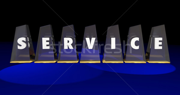 Service Best Top Prize Highest Level Awards 3d Illustration Stock photo © iqoncept