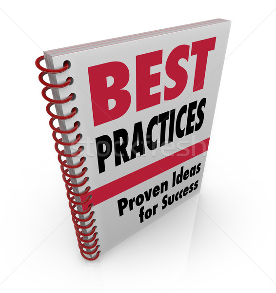 Best Practices Book Ideas for Success Stock photo © iqoncept