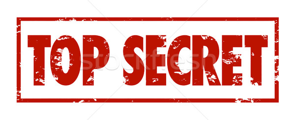 Top Secret Words Red Grunge Stamp Classified Confidential Inform Stock photo © iqoncept