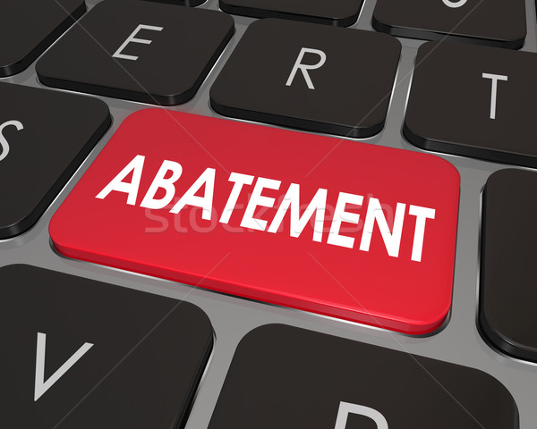 Abatement Nuisance Removal Problem Correction Solution Computer  Stock photo © iqoncept