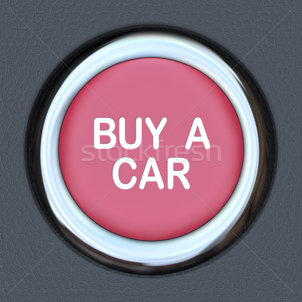 Buy a Car Push Button Start Browsing Shopping for Vehicle Stock photo © iqoncept