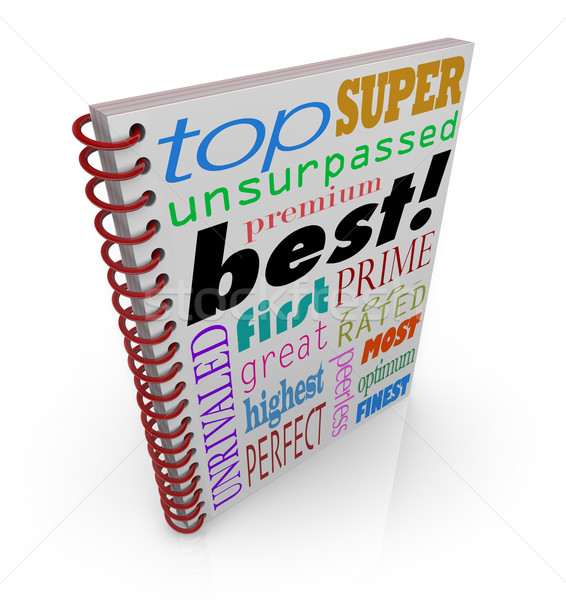 Best Seller Book Cover Great Advice Manual Instructions Stock photo © iqoncept