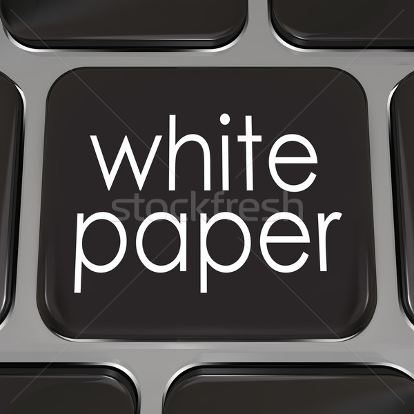 White Paper Download Online Information Advice Case Study Stock photo © iqoncept