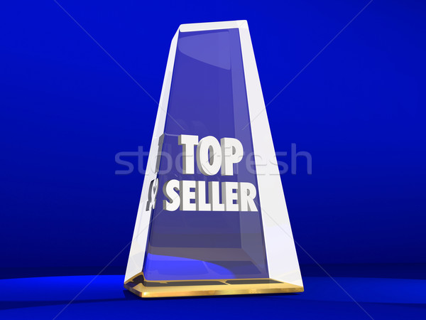 Top Seller Most Popular Choice Sales Demand Award Stock photo © iqoncept