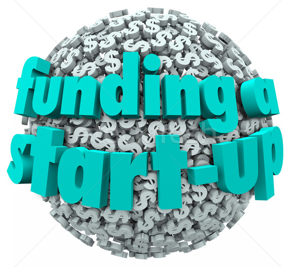 Funding a Start-Up Business New Company Finance Money Stock photo © iqoncept