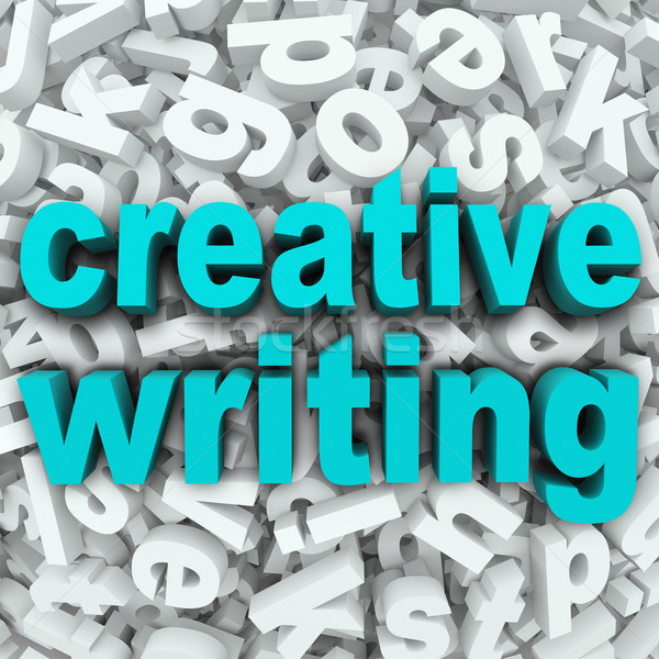 Creative Writing Letter Background Creativity Imagination Stock photo © iqoncept