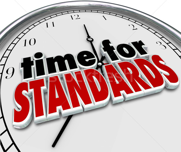 Time for Standards Clock Testing Evaluation Stock photo © iqoncept