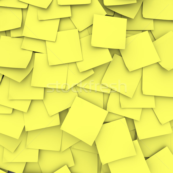 Yellow Sticky Note Background Stock photo © iqoncept