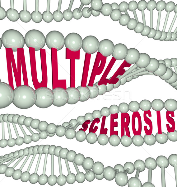Multiple Sclerosis in DNA Strand Stock photo © iqoncept
