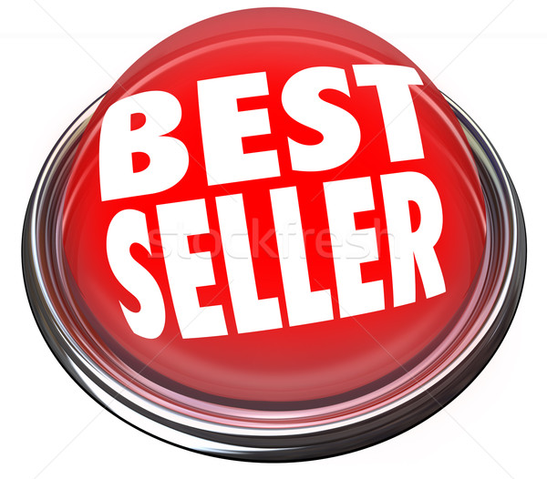 Best Seller Red Button Light Advertising Sale Popularity Stock photo © iqoncept