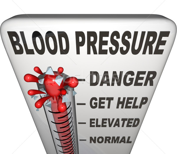 Hypertension Blood Pressure Elevated Dangerous Level Stock photo © iqoncept