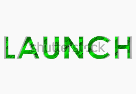 Launch 3D Word Arrows Up Successful New Business Start Stock photo © iqoncept