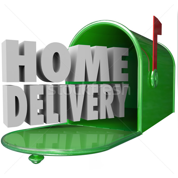 Home Delivery Special Shipping Service Straight to Your House Stock photo © iqoncept