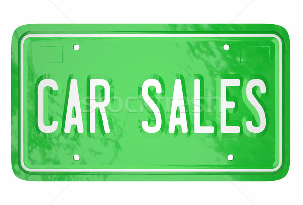 Car Sales Automotive Vehicle Manufacturer Selling Customers Lice Stock photo © iqoncept