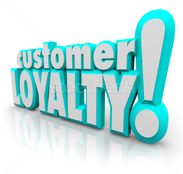 Customer Loyalty Return Repeat Business Satisfied Client Stock photo © iqoncept