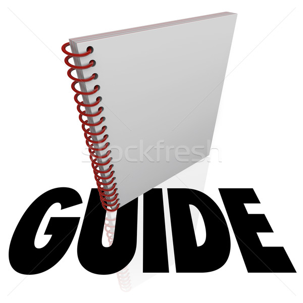 Foto d'archivio: Guidare · spirale · libro · parola · istruzione · manuale