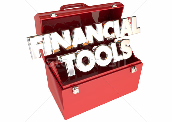 Pénzügyi szerszámok pénz költségvetés tanács tippek Stock fotó © iqoncept