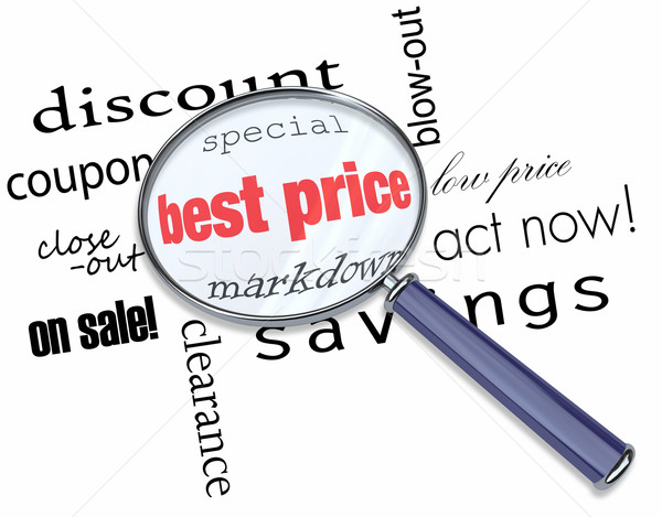 Searching for the Best Price Stock photo © iqoncept