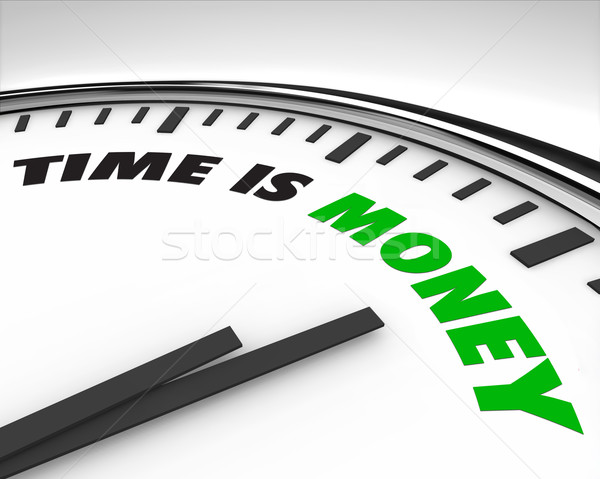 Time is Money - Clock Stock photo © iqoncept