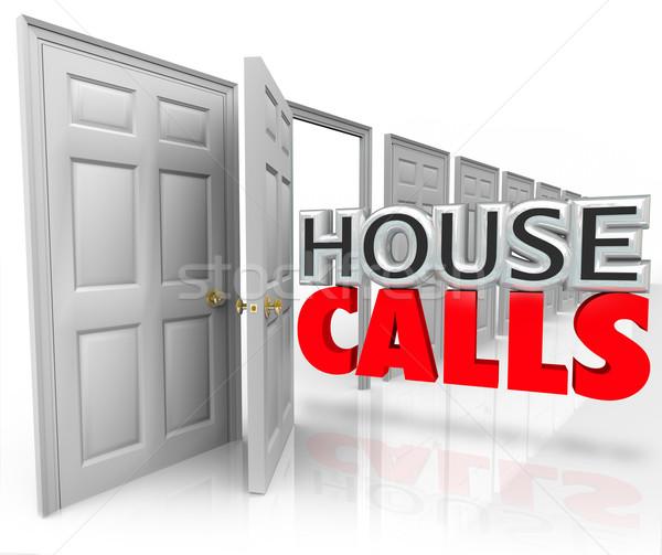 House Calls Doctor Professional Visit Home Appointment Stock photo © iqoncept