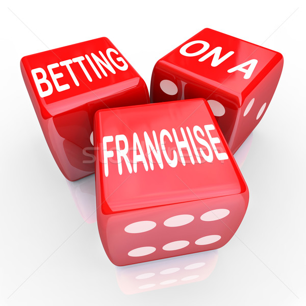 Betting Franchise Start New Business License Established Chain B Stock photo © iqoncept