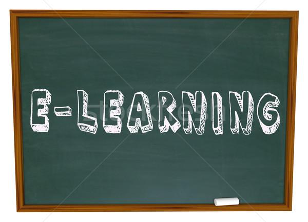 学校 黒板 を インターネット ウェブ ストックフォト © iqoncept