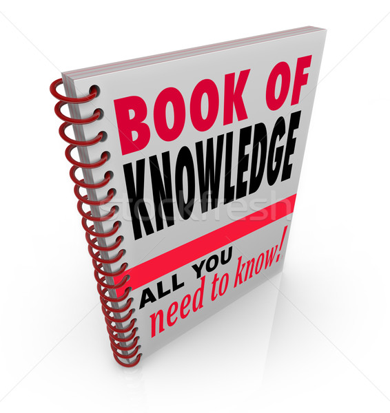Book of Knowledge Learn Expertise Wisdom Intelligence Stock photo © iqoncept