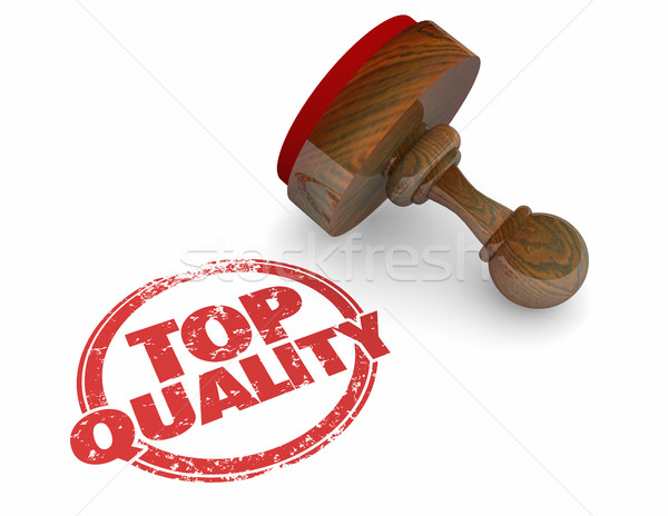 Top Quality Best Product Service Stamp Word 3d Illustration Stock photo © iqoncept