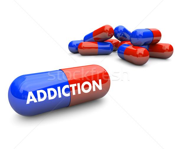 Pills -  Addiction Stock photo © iqoncept