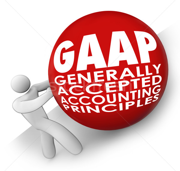 GAAP Generally Accepted Accounting Principals Accountant Rolling Stock photo © iqoncept