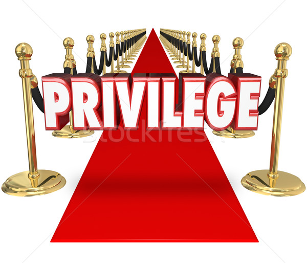 Stock photo: Privilege Rich and Famous Exclusive Celebrity VIP Access Red Car