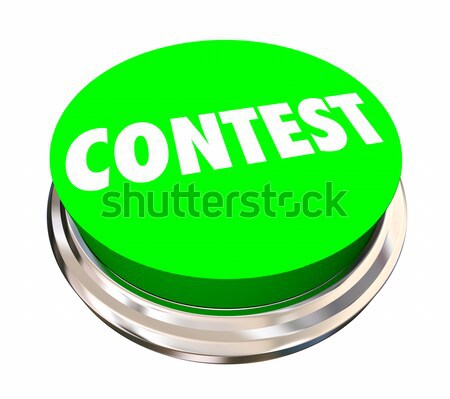 Concours jeu concurrence gagner bouton Photo stock © iqoncept