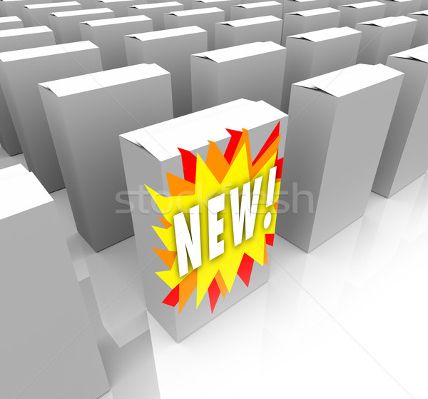 Planned Obsolescence - New Product Stands Out Stock photo © iqoncept