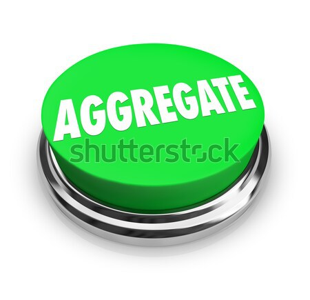Stock photo: Convenience Word Green Round Buton Fast Easy Service