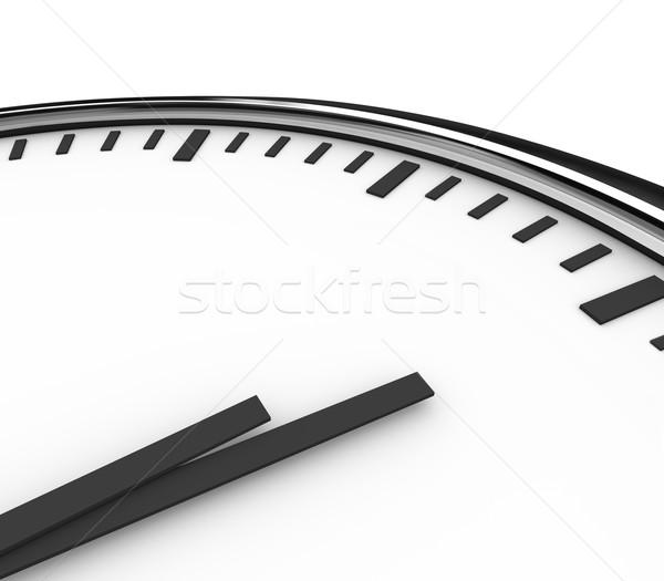 Stock fotó: óra · idő · óra · kezek · copy · space · üzenet