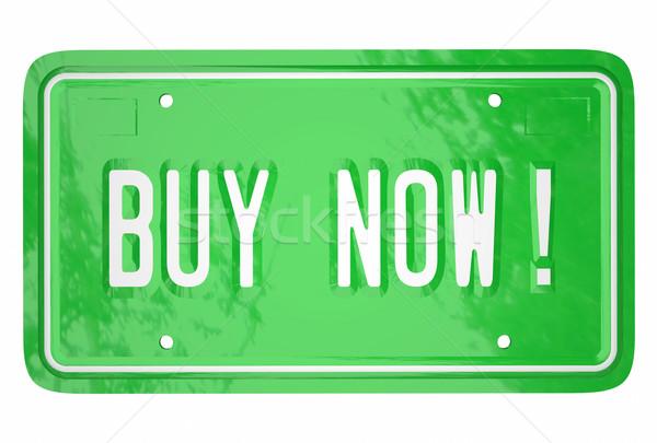 Carro veículo cliente compras Foto stock © iqoncept