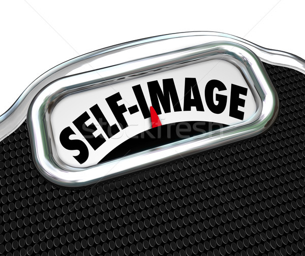 Scale Display Self Image Conscious Lose Weight Stock photo © iqoncept