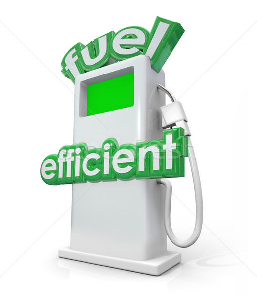 Fuel Efficient Gasoline Diesel Pump Green Power Energy Stock photo © iqoncept