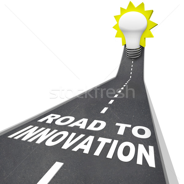 Road to Innovation - Path to Creative Problem Solving Stock photo © iqoncept
