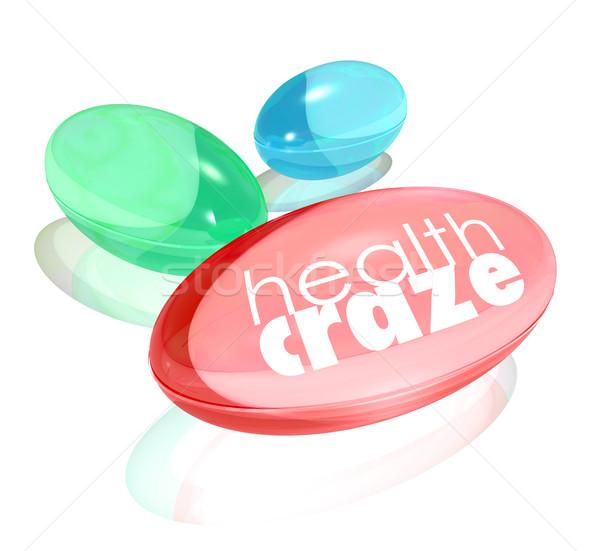 健康 単語 ビタミン カプセル ストックフォト © iqoncept