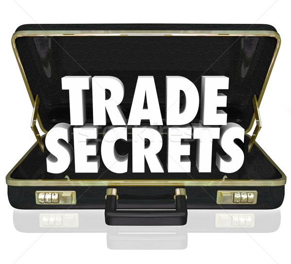 Trade Secrets Briefcase Business Proprietary Information Intelle Stock photo © iqoncept