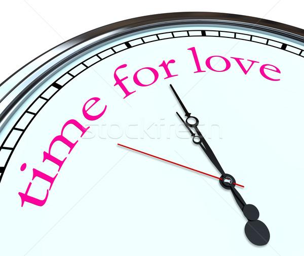 Stok fotoğraf: Zaman · sevmek · saat · sözler · iş · eller