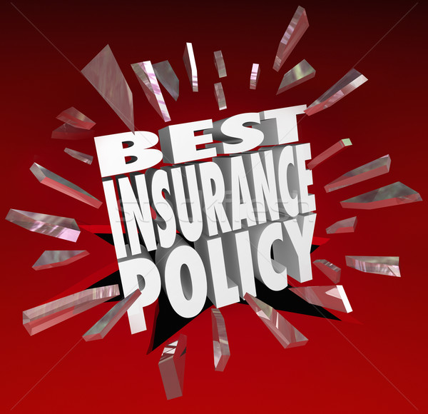 Best Insurance Policy Words Coverage Health Care Protection Stock photo © iqoncept