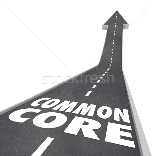 Common Core Education Curriculum School Standards Testing Learni Stock photo © iqoncept